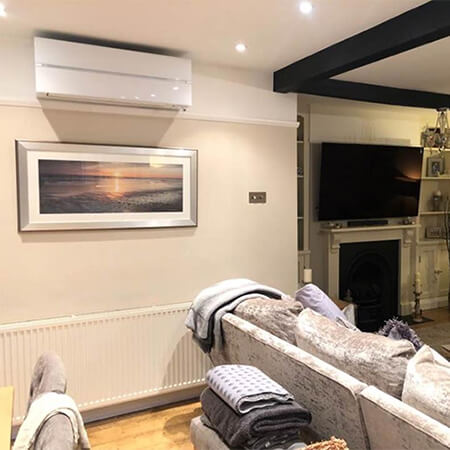 High Wall Mounted Air Conditioning